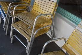 Motel Chairs Sundrella Aluminum Patio Umbrellas In Production Since 1956