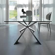 tavolo sala da pranzo tavolo in cristallo lungo tre metri spyder di cattelan arredaclick