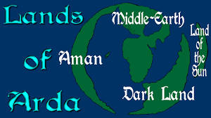 Lord Of The Rings World Map by Lands Of Arda The World Of Lord Of The Rings Youtube