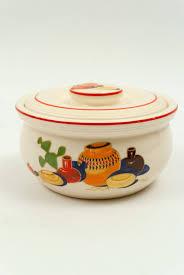 homer laughlin vintage mexicana homer laughlin kitchen kraft decalware covered casserole