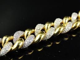 white gold link bracelet images Sterling silver miami cuban link bracelet in white rose or yellow jpg