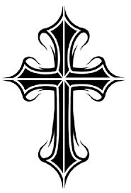 tribal cross tattoos 66 1 png 408 600 pixels s