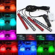 Interior Car Led Glow Full Color Car Led Interior Kit Footwell Floor Seats Inside