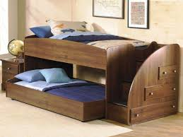 Bunk Beds Cheap Cheap Bunk Beds With Stairs Single Black Chair On Wooden Floor