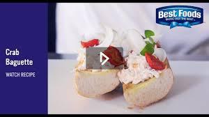 baguette cuisine crab baguette บาแก ตป knorr cuisines