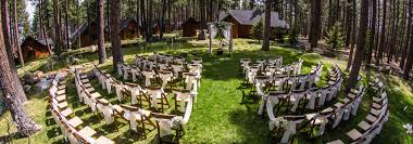for wedding ceremony weddings fivepine lodge conference center