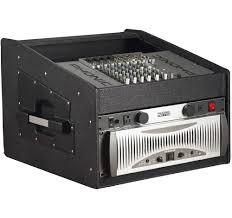 Wood Audio Rack Amazon Com Gator 10u Top 4u Side Wood Console Audio Rack Grcw