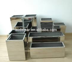 customized indoor u0026outdoor 2mm thick tapered large indoor planters