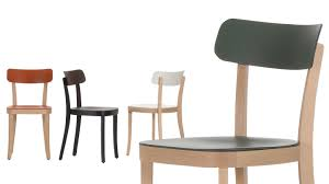 Wooden Bistro Chairs Vitra Basel Chair