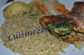 cuisiner du riz blanc thiéboudienne riz senegalais blanc cuisine 228