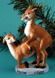 Deer Christmas Decorations Funny by The Most Outrageously Inappropriate Christmas Decorations Revealed