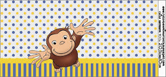 curious george free printable candy bar labels