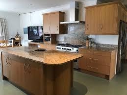 modern oak kitchens large good quality modern oak kitchen with impressive granite