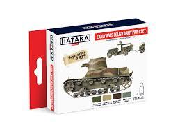 early ww2 polish army paint set hataka