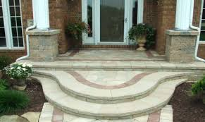 Wooden Front Stairs Design Ideas Patio Ideas Stone Patio Steps Ideas Wooden Front Door Step
