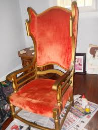 Throne Style Chair Diy Reupholster Of A Throne Style Chair Fantasy Art Fairytale