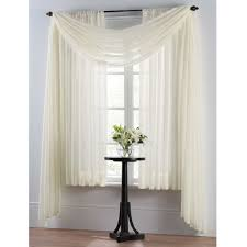 smart sheer insulating voile window curtain panel window