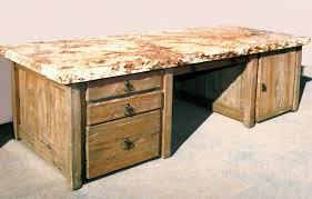 Granite Computer Desk Awesome Granite Top Desk Inside Lovable Office Desks Custom