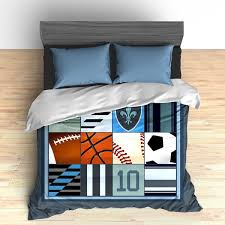 music themed queen comforter custom sports themed bedding i love all sports all star
