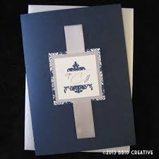 navy blue wedding invitations gwyneth s wedding invitation card here means return