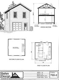 Home Design Ipad Second Floor Two Story 1 Car Garage Plan 722 2 By Behm Design Has Small