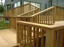 Ideas For Deck Handrail Designs Deck Handrail Designs Deck Stair Ideas Image Of Deck Stair Railing