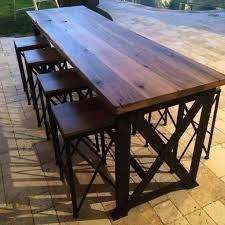 Diy Outdoor Bar Table Bar Table Outdoor Bar Station 5 Diy Bar Table Ideas Hism Co