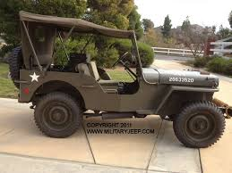 military jeep 1944 willys mb jeep for sale militaryjeep com