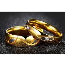 fashion golden rings images Wedding wave curvy strips design golden rings jpg