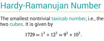 ramanujian math online tom circle