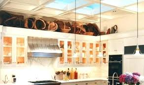 kitchen cabinets top decorating ideas top of cabinet decorating the decorating kitchen cabinets ideas