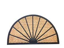 Half Moon Doormat Gardman Garden Patio Cast Iron Doormat Burghley Design Half Round