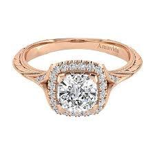 gold engagement rings cushion cut faith 18k gold cushion cut halo engagement ring er11341c6k83jj