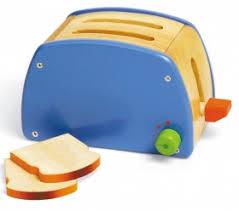 toaster kinderküche pintoy toaster holz für spielküche mit funktion zubehör