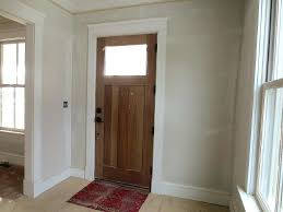 front entry door interior view custom home shutters rug trim ideas