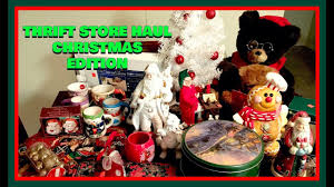 the best thrift store haul christmas home decorations for under