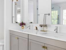 bathroom countertop ideas hgtv