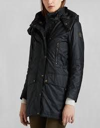 ct master luxe parka women s designer jackets coats belstaff