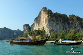 getting to railay long tail boats from ao nang