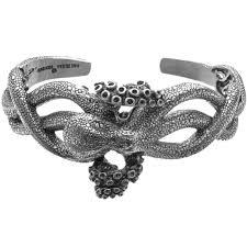 cuff bracelet sterling images Octopus cuff bracelet sterling silver kabana jpg