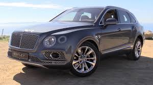 bentley jeep 2017 bentley bentayga w12 start up road test u0026 in depth review