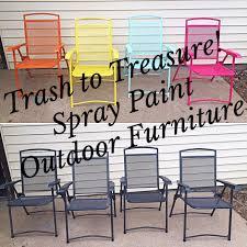 Spray Painting Metal Patio Furniture - spray paint outdoor furniture u2013 a plot twist life
