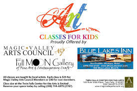 summer art classes for kids magicvalleyartscouncil org
