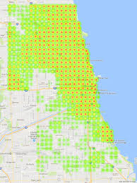 Maps Of Chicago Neighborhoods by The Restaurant Landscape Of Chicago Bootler Food Delivery