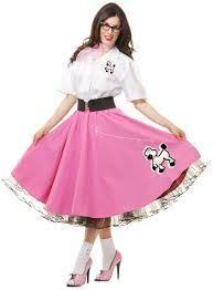 Halloween Costumes Pink Ladies 47 Vaselina Costume Images Poodle Skirts