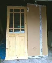 Wickes Patio Doors Upvc by Brand New Wickes Truro Internal Pine Glazed Door 1981 X 762mm