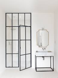 Used Glass Shower Doors by Bathroom Of The Week Steel Frame Shower Doors In A Fanciful