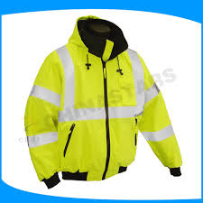 hi vis winter cycling jacket yellow safety winter jackets hi vis jacket for cycling motorcycle
