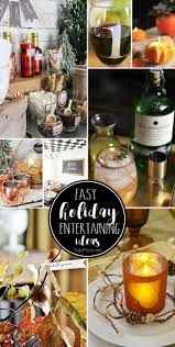 easy holiday entertaining ideas tidymom