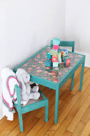 Ikea Kids Table Pink Diy Kids Table Makeover The Sweetest Occasion